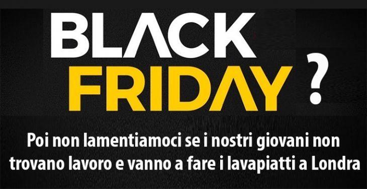 """Ricchiuti (PPI)-"""" Black friday? Multinazionali ringraziano"""""""