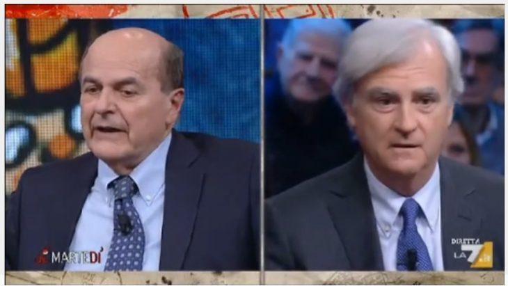 Rinaldi Vs Bersani a La7: un'ottimo scontro