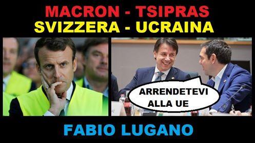 Fabio Lugano su Italia News: la situazione in Francia , Tsipras e lo scontro Ucraina Russia