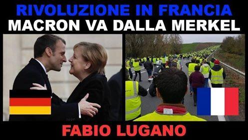 """Intalia News intervista Fabio Lugano: i """"Gilet Gialli"""" francesi e la ragione per la loro rivolta."""