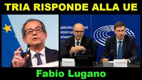 Italia News, intervista a Fabio Lugano: la risposta alla UE e Austria ed Olanda tifano per le sanzioni
