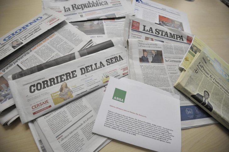 Disastro editoria italiana. Vista la qualità dei giornali….