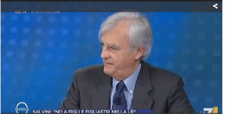 Rinaldi a OMNIBUS: il Ministro Savona, Quota 100, Pensioni, Moscovicì che si assicura una cadrega. Un esempio dell'assedio permanente dei Media