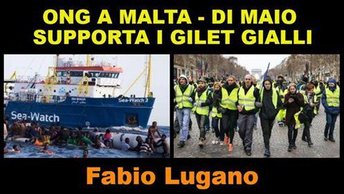 Gilet Gialli e Migranti a Malta. Intervista di Italia News a Fabio Lugano