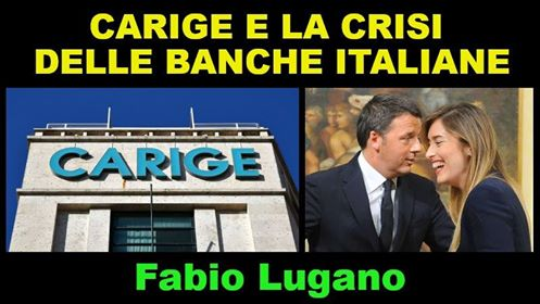 Carige e le crisi bancarie. Intervista a Fabio Lugano di Italia News