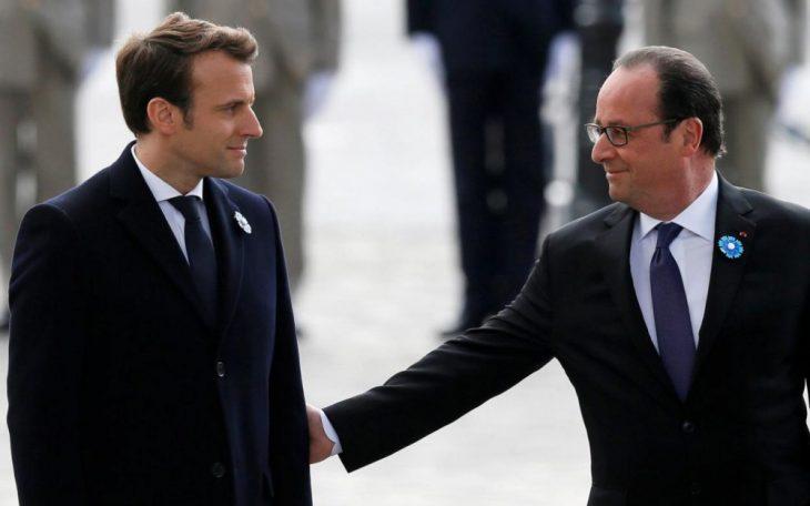Macron, il presidente dei super ricchi. Lo dice perfino Hollande!!