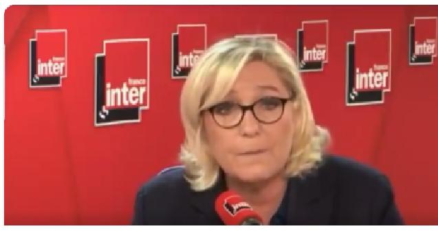 Marine le Pen: lo Stato rifiuta di sciogliere le milizie di estrema sinistra che danneggiano i Gilet Gialli