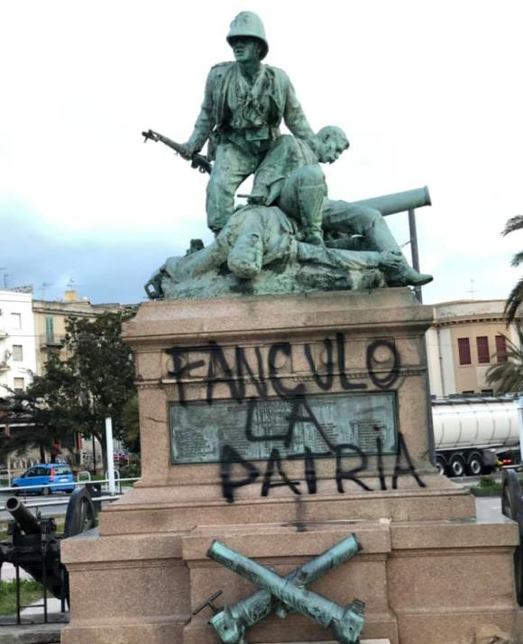 """""""O Patria, non ti curar degli imbecilli"""" (Poesia di Giuseppe Palma)"""