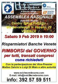 Giornata memorabile a Vicenza: Di Maio e Salvini incontrano i risparmiatori truffati dalle banche
