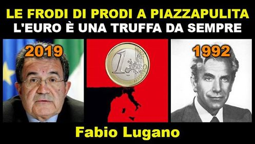 Prodi a Piazzapulita sull'euro: un commento