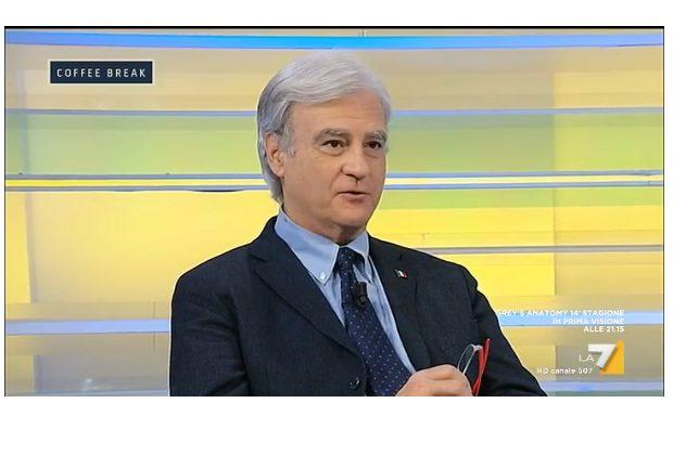 Rinaldi a Coffe Break: gli italiani non sono razzisti, ma incazzati. Renzi è ancora potente. Ci sono invalidi che campano con 280 euro, altro che xenofobia