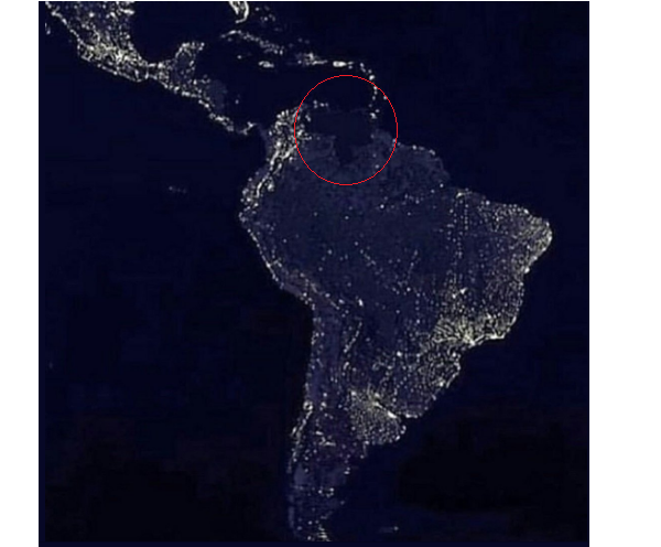 VENEZUELA: 54 ORE DI BLACK OUT. NON PUO' FINIRE BENE