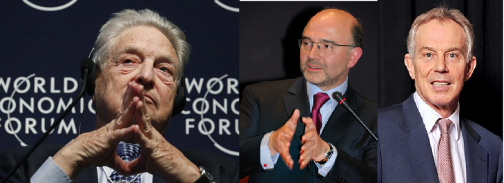 Perchè il colloquio fra Moscovici, Soros e Blair è segreto? (leggete la lettera)