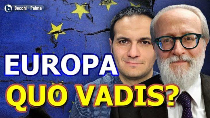 """ByoBlu intervista P. Becchi e G. Palma su """"Europa, quo vadis? La sfida sovranista alle elezioni europee"""", il loro ultimo libro"""