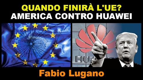 Italia News intervista Fabio Lugano: elezioni europee e caso Huawei