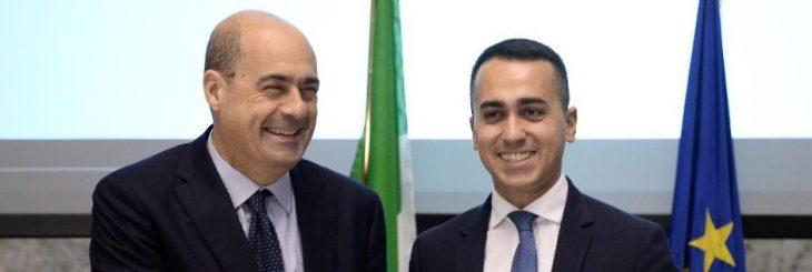 Zingaretti firma in diretta l'impegno a concedere lo Ius Soli e ad importare i migranti. Almeno sapete che cosa capiterà con prossimo governo rosso-giallo