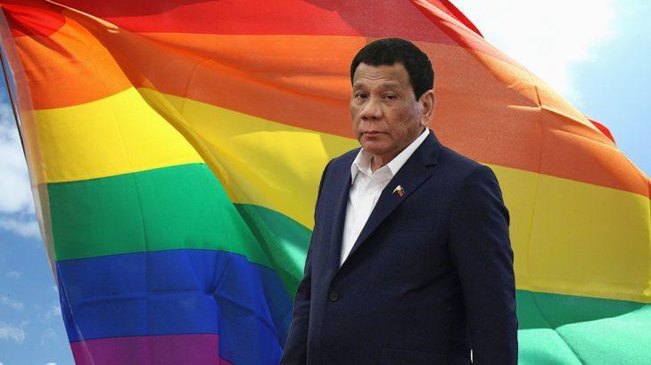 """Il """"Duro"""" Duterte era Gay, ma la moglie lo ha """"Curato"""""""