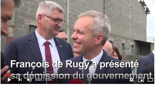 SI DIMETTE IL MINISTRO FRANCESE ALL'AMBIENTE: TROPPE ARAGOSTE