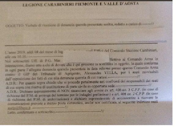 PARTONO LE DENUNCE ALLA PM DI AGRIGENTO, in compagnia dei deputati della Sea Watch