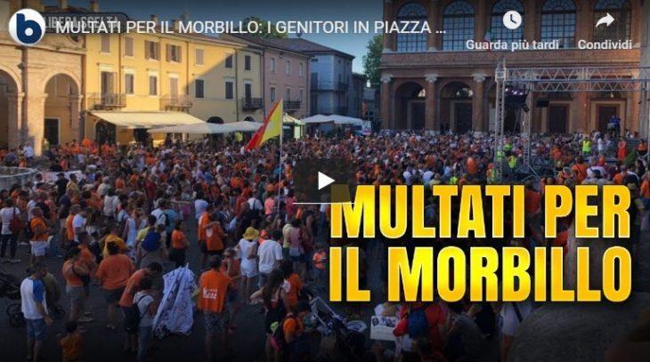 """Nel silenzio totale, la Manifestazione dei """"LIbera Scelta"""" vaccinale a Rimini (Byoblu)"""
