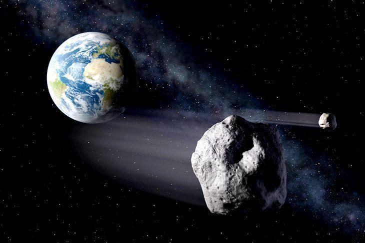 I quattro asteroidi più pericolosi per la terra