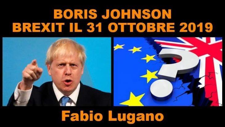 Intervista a Fabio Lugano: Boris Johnson a Downing Street