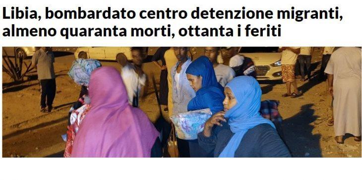 CONGIURA QUASI PERFETTA PER TRASFORMARE L'ITALIA NEL CAMPO PROFUGHI D'EUROPA