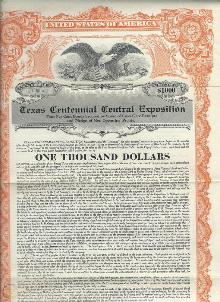 Gli USA stanno valutando l'emissione dei bond centennali