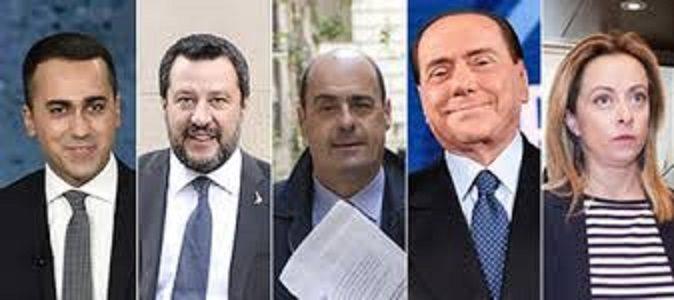 """NIENTE """"LISTONE"""" LEGA -FORZA ITALIA, BERLUSCONI ESCLUSO. LE RAGIONEVOLI RICHIESTE DEL PD AI CINQUE STELLE. Poi chissà……."""