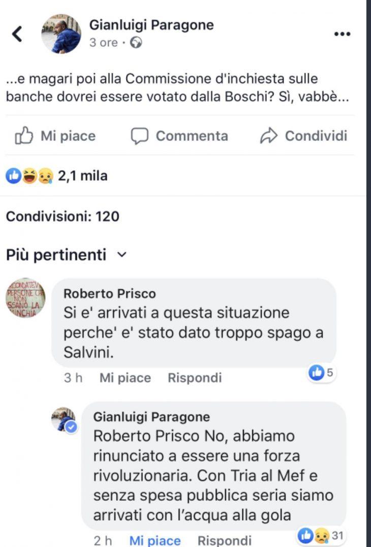 PARAGONE (M5S) VI SPIEGA LO SCONTRO SALVINI-DI MAIO