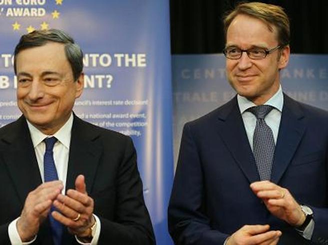 LA POLITICA ESTERA DELLA BUNDESBANK: quando l'amico Wiedmann ci scrive in italiano per dirci che va tutto bene
