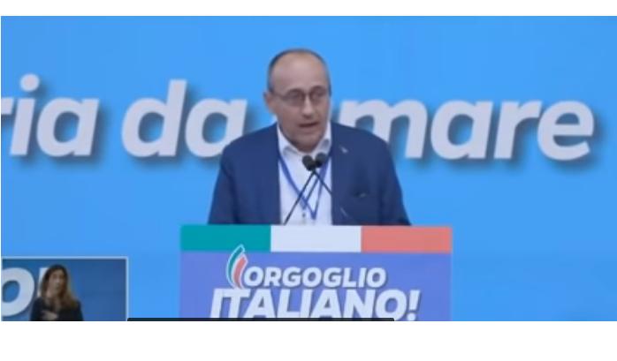 ALBERTO BAGNAI IN PIAZZA SAN GIOVANNI: