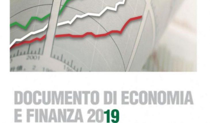 """IL NADEF 2019 TRA CRESCITA """"SPERATA"""" E CONSOLIDAMENTO FISCALE DISSIMULATO (da Orizzonte48)"""