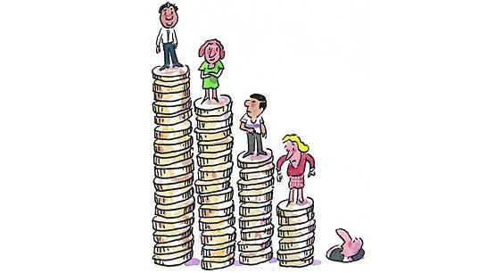 DISEGUAGLIANZA SEMPRE MAGGIORE: ricchezza finanziaria 630% di quella reale.