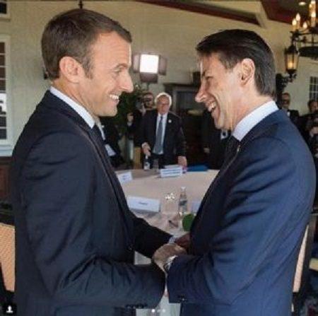 """L'Italia aderisce a """"sorpresa"""" all'European Intervention Initiative.   Un nuovo regalo ai francesi dopo l'incontro tra Conte e Macron. (di Francesco Amodeo)"""