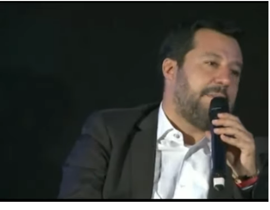 SALVINI NON HA MAI DETTO EURO IRREVERSIBILE. Il video ORIGINALE