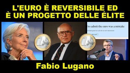 PROBLEMI MONETARI: Fabio Lugano e l'Euro