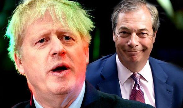 BREXIT A RISCHIO?  Farage pone un ultimatum a Johnson
