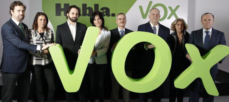 SPAGNA: NIENTE CORDONE SANITARIO CONTRO VOX