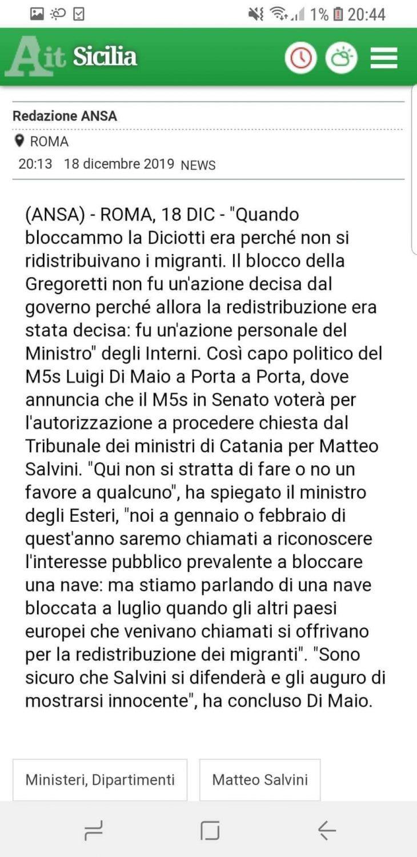Tutto per una sedia. Salvini venduto alla sinistra