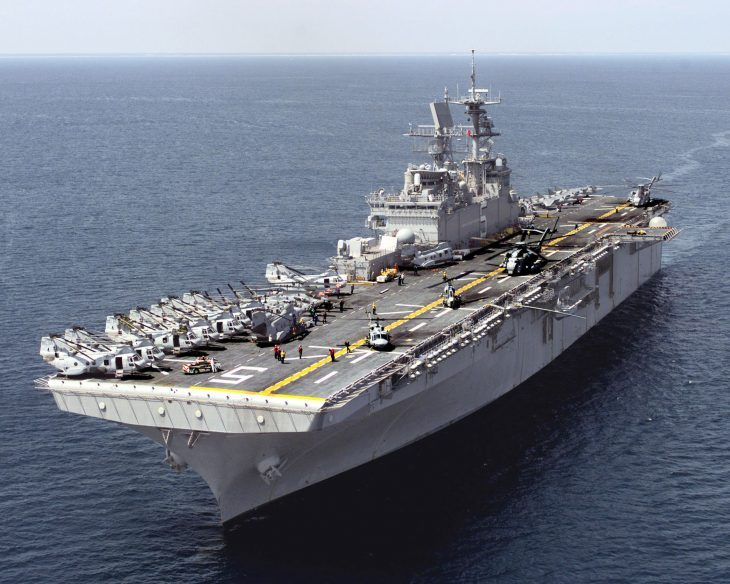 Manovre militari USA: marines e bombardieri in movimento, mentre il Dipartimento della Difesa fa un pasticcio…