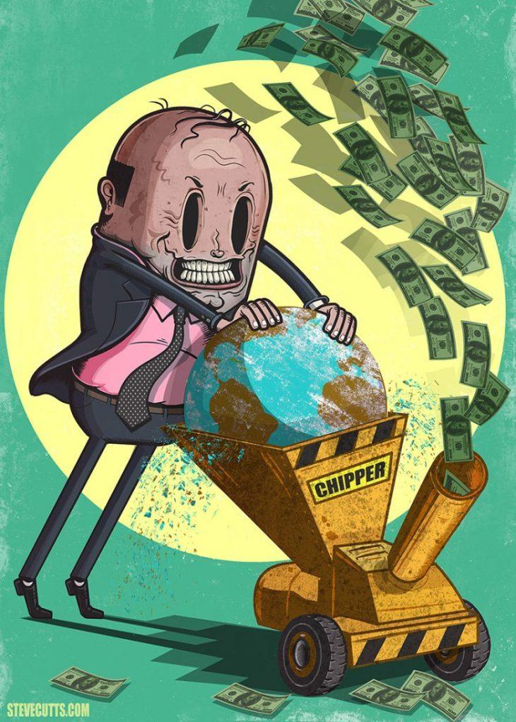 La finanziarizzazione dell'economia ha causato il calo demografico, distruggendo quella reale