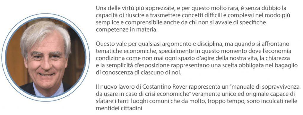 Libro di economia spiegata facile, prefazione di Antonio Maria Rinaldi