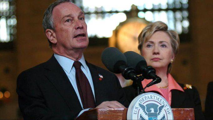 LA LEGA DEL MALE: Bloomberg e Clinton uniti