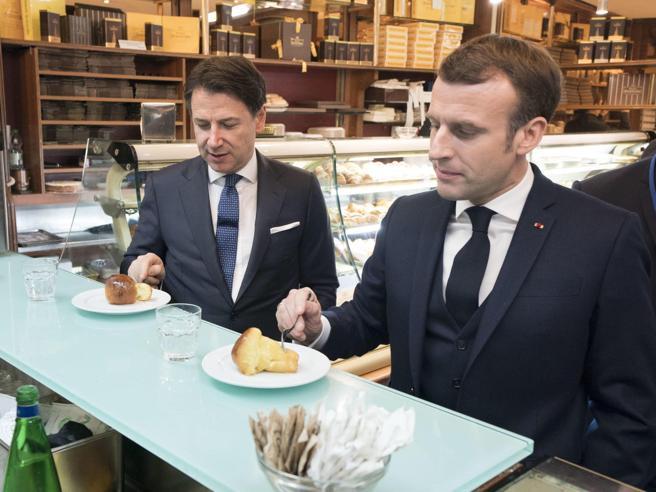 LA RESA DI CONTE A MACRON. Un tizio a palazzo Chigi svende gli interessi italiani per tenersi la poltrona