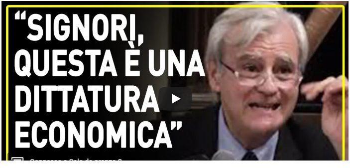 RINALDI: L'EUROPA E' SOLO UNA DITTATURA ECONOMICA
