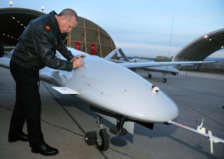 ERDOGAN BASTONATO IN LIBIA E SIRIA :  3 droni abbattuti in pochi giorni.