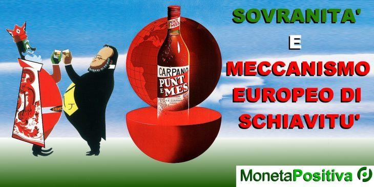 Una manovra economica poderosa da 350 mld di euro o il MES?