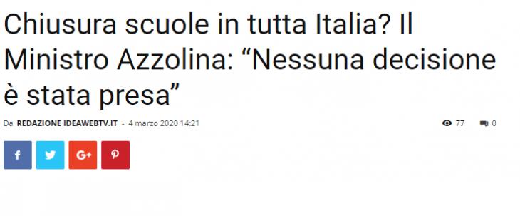 COVID-19: L'ULTIMO PASTICCIO. In Italia non c'è tragedia senza farsa.
