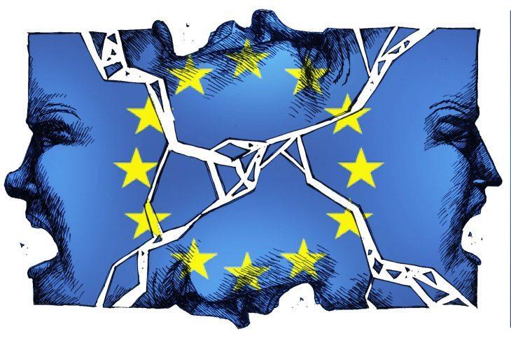 PERCHE' LE ISTITUZIONI UE NON RESISTERANNO A QUESTA CRISI. IL Re è nudo. La UE è solo stupida repressione